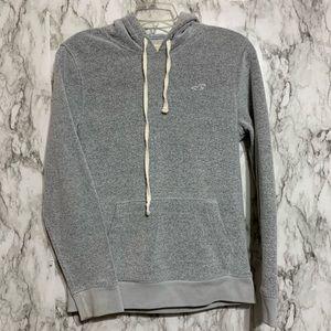 Hollister soft gray sweatshirt